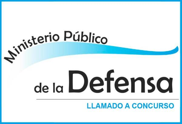 Concursos para cubrir Cargos de Defensor General Adjunto